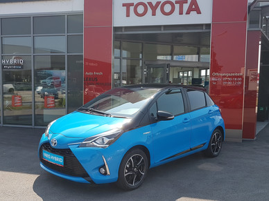 Toyota Yaris 1,5 VVT-i Hybrid Style CYAN Edition TAGESZULASSUNG